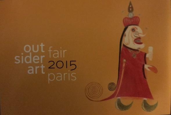 L'Outsider Art Fair Paris est ouverte mais faites vite elle ne dure que jusqu'àdimanche!