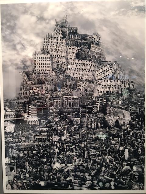 Destruction, Zhenjun Du, photographie 240 X 180 cm, 2012