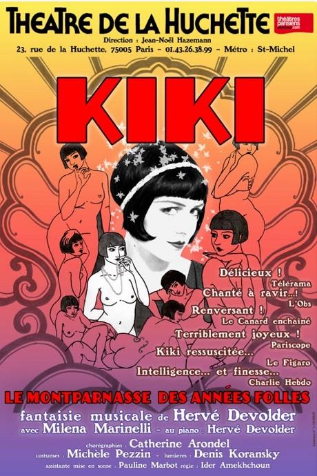 Kiki de Montparnasse au Théâtre de laHuchette