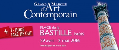 Le Grand Marché d'Art Contemporain à la Bastille