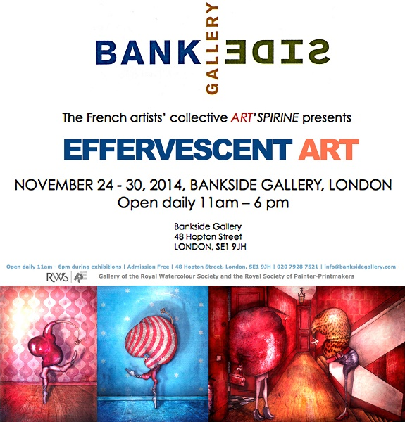 exposition-peintre-contemporain Expo Bankside Gallery London, 24 au 30 nov 2014 - Copie