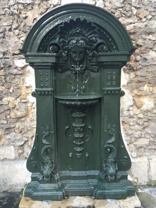 fontaine du Jardin des Plantes