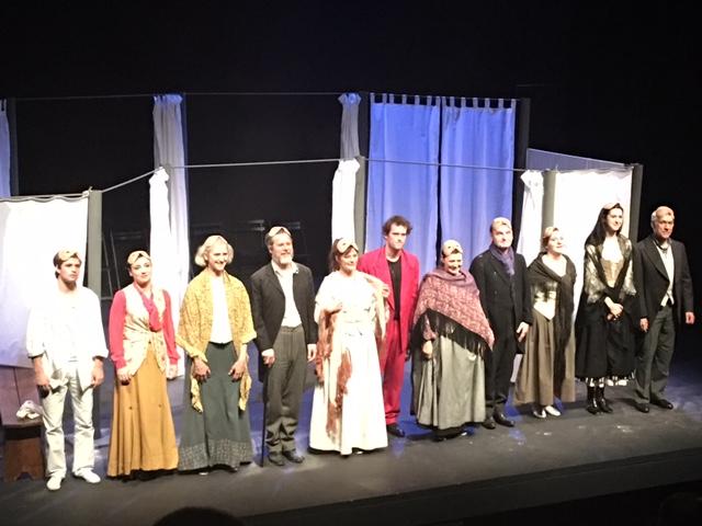 Le Massere (Les cuisinières) de Carlo Goldoni à l'Artistic Théâtre