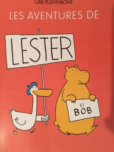 Les aventures de Lester et Bob d'Ole Konnecke