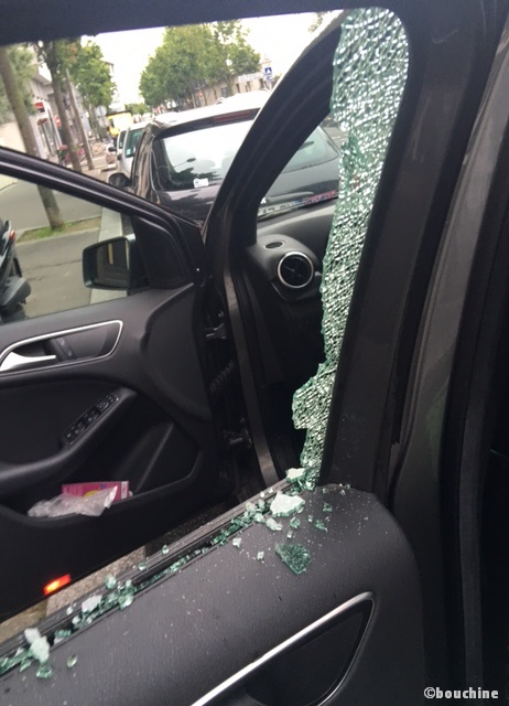 Mercedes vandalisée2 - Copie