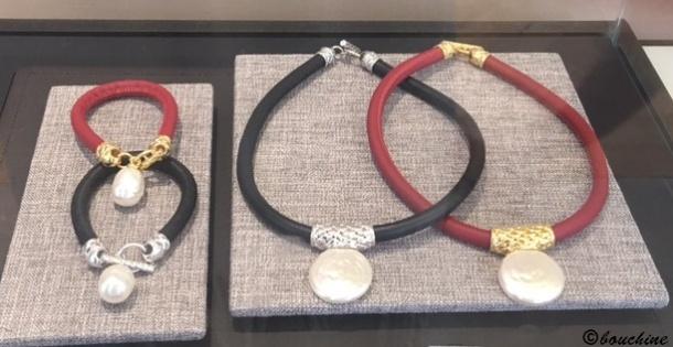 Colliers et bracelets Majorica 1