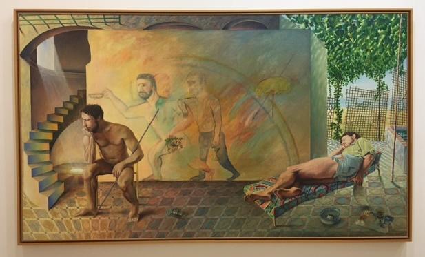 La estancia (1982-83)de Guillermo Perez Villalta (Cadiz 1948)