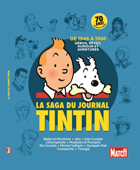 Paris Match invite Tintin