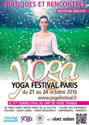 4ème édition du Yoga Festival Paris2016