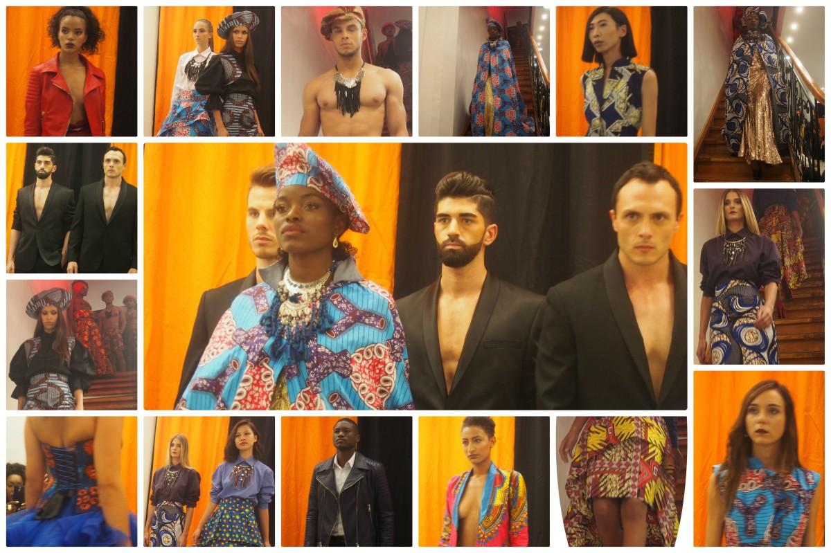 Défilé fashion à la Maison Anggy Haif
