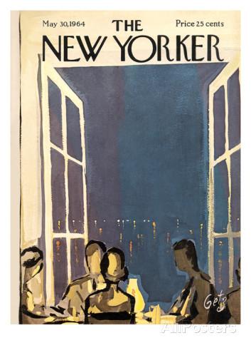 Calendrier de l'Avent J-6 : la couv' du magazine The New Yorker du 30 mai 1964…