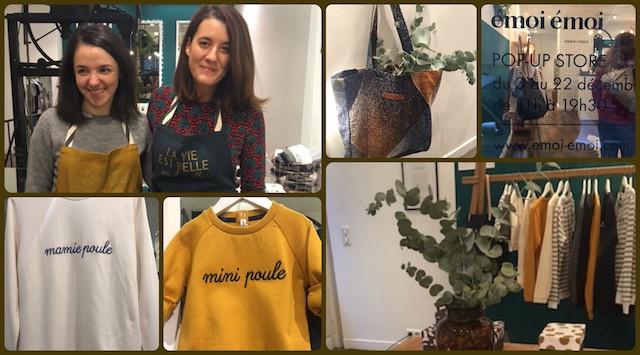 Le pop up store d'Emoi Emoi ouvre aujourd'hui !