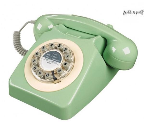 Calendrier de l'Avent, J moins 17: Un téléphonevintage…