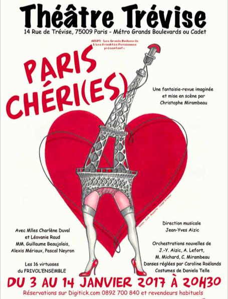 J'ai vu… Paris Chéri(es) au théâtreTrévise