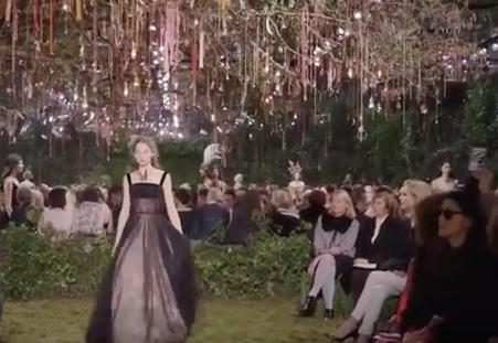 Défilé Christian Dior Haute Couture Spring Summer2017