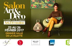 Le Salon Art et Déco investit la Grande Halle de la Villette du 23 au 26 février