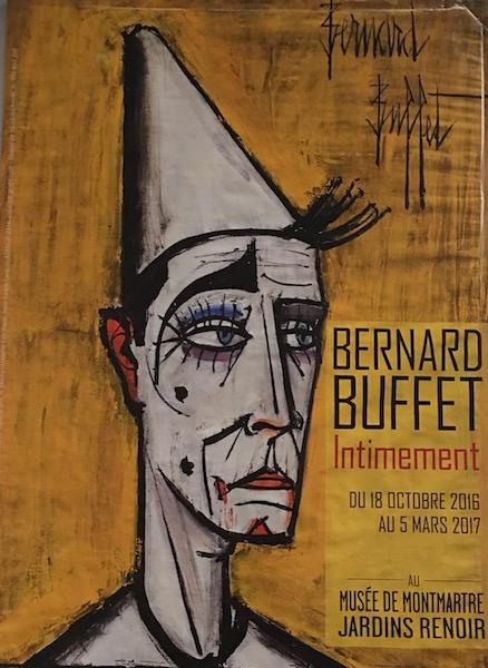 Bernard Buffet, Intimement au Musée deMontmartre