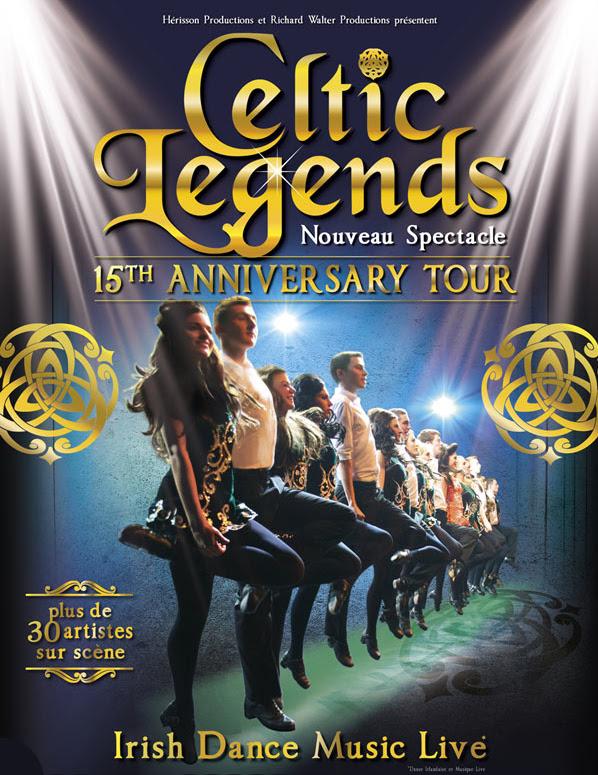 Celtic Legends, l'un des spectacles dédiés à la culture celtique les plus réputés, célèbre ses quinze ans lors d'une tournée événement à Paris et partout enFrance.