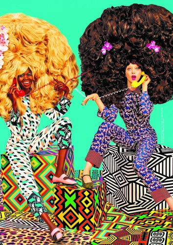 La parade AFRICA NOW c'est dimanche 2 avril aux Galeries LafayetteHaussmann