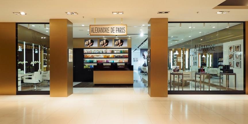 Avec le nouveau salon ALEXANDRE DE PARIS, la coiffure de luxe investit les GaleriesLafayette