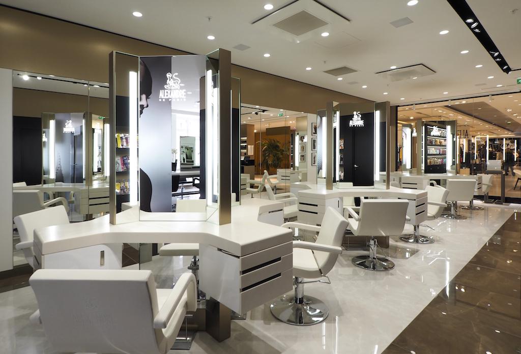 Avec le nouveau salon ALEXANDRE DE PARIS, la coiffure de luxe ...