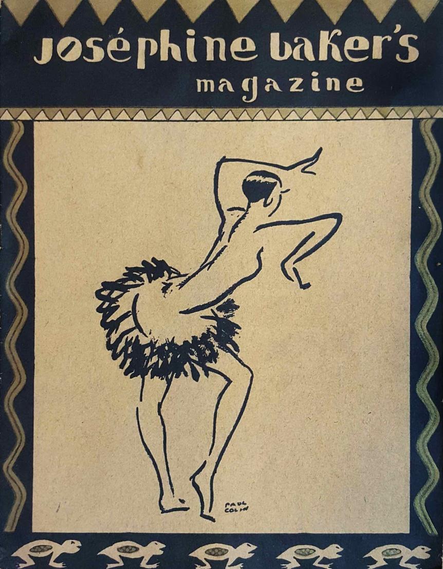 Joséphine Baker's magazine..