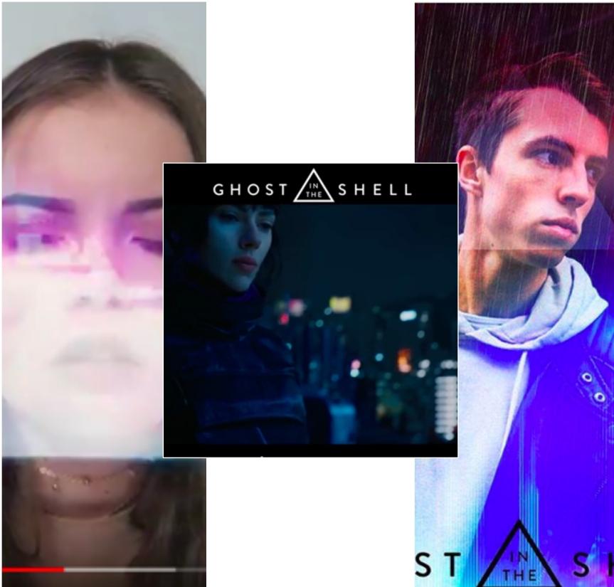 L'agence TANKE a piraté les réseaux sociaux de 11 influenceurs pour la sortie du film Ghost in theShell