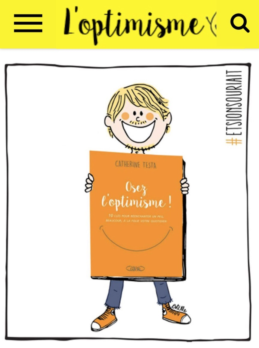 Osez l'Optimisme aujourd'hui en librairie!