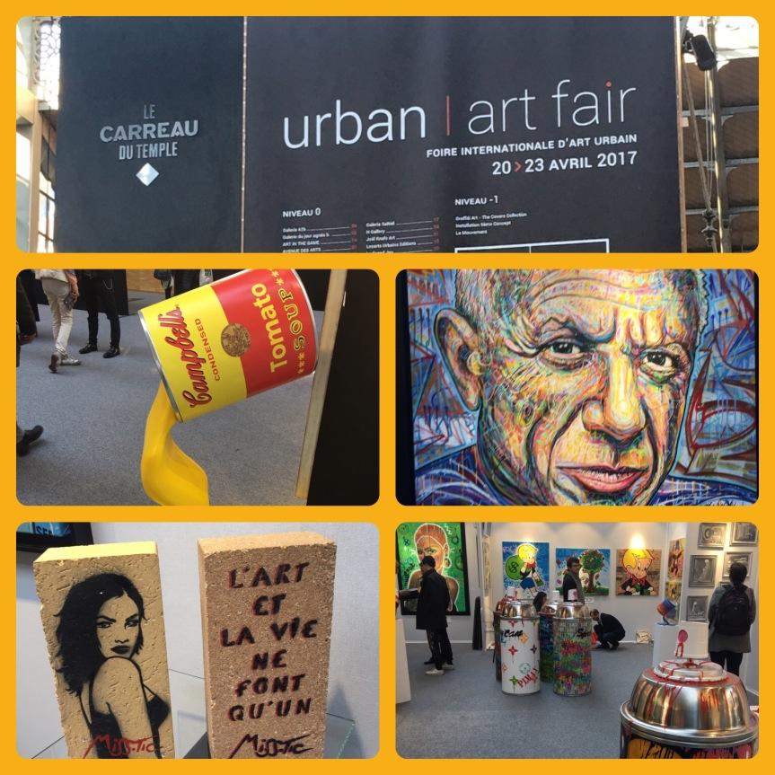 2ème édition de l'Urban Art Fair au Carreau duTemple