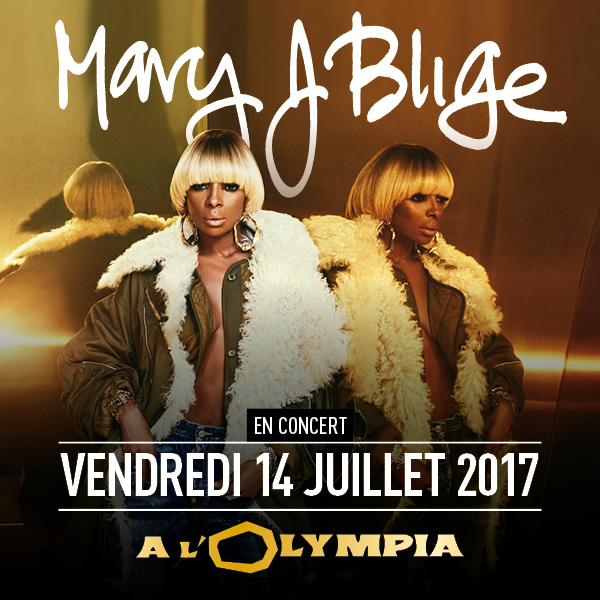 MARY J BLIGE à l'OLYMPIA