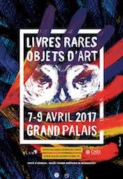 XXIXe SALON INTERNATIONAL DU LIVRE RARE & DE L'OBJET D'ART au GRANDPALAIS