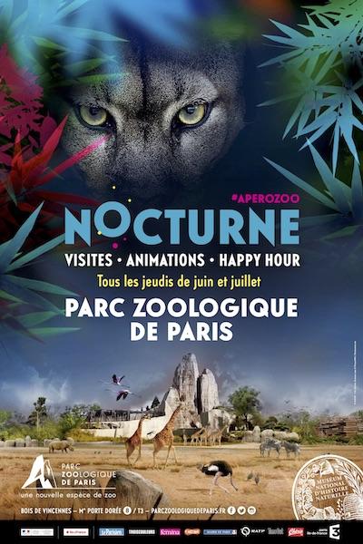Demain soir, première Nocturne de la saison au Parc zoologique deParis