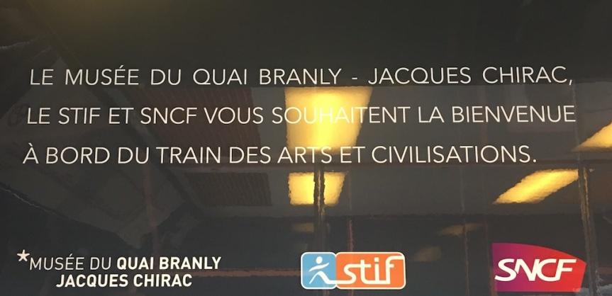 Inauguration du Train des Arts et des Civilisations :extraordinaire!