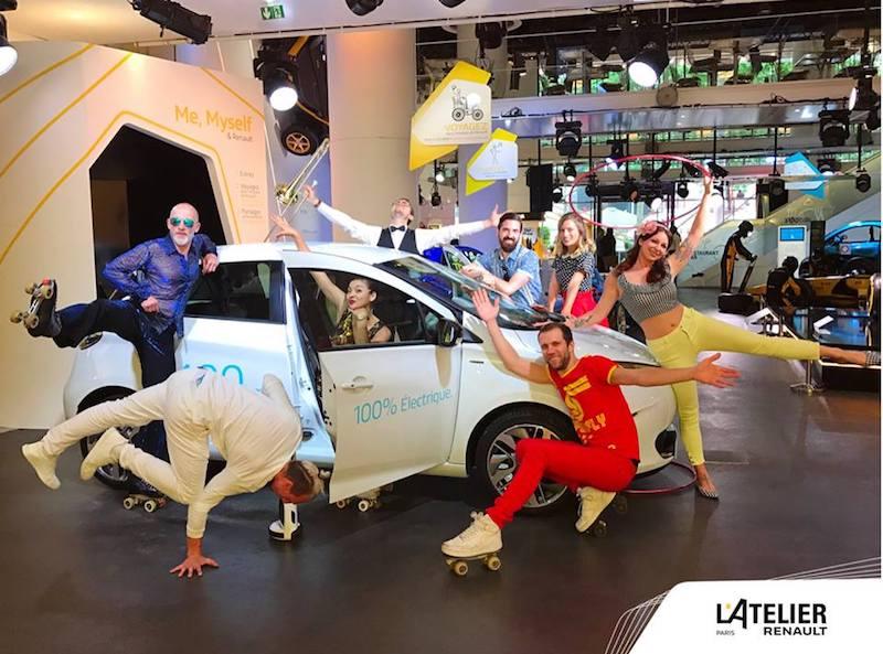l atelier Renault