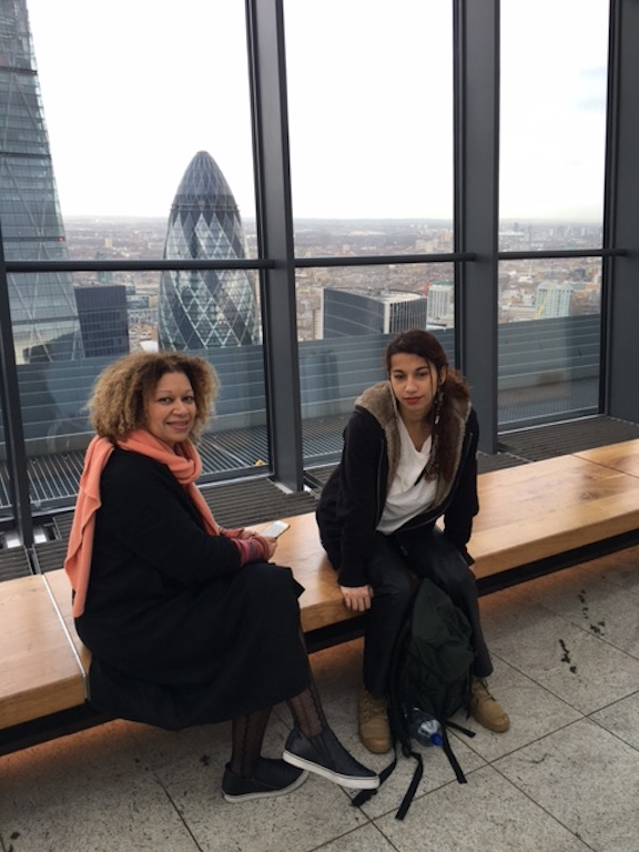 LONDRES DEC 2015 BEA & OMAYA