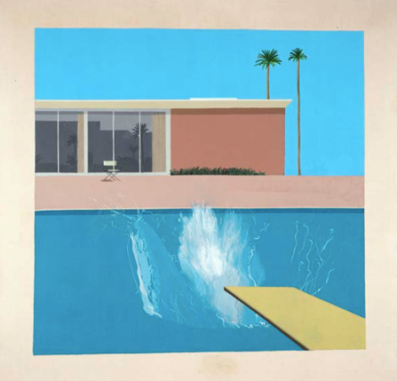DAVID HOCKNEY SPLASH