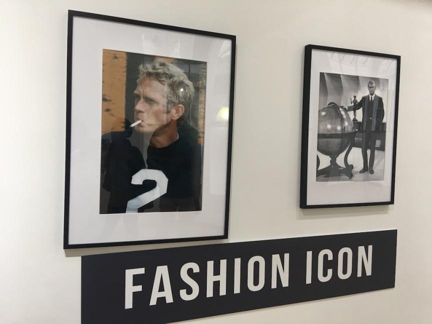 FASHION ICON Steve McQueen