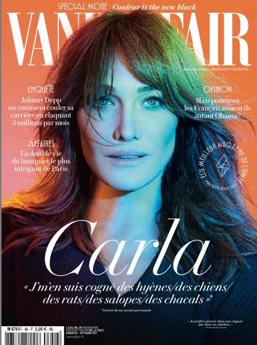 En kiosque aujourd'hui le numéro 50 de Vanity Fair