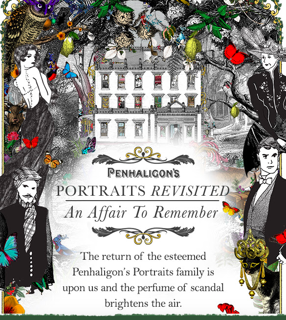 Portraits de Penhaligon's… mais qui sont les 4nouveaux?