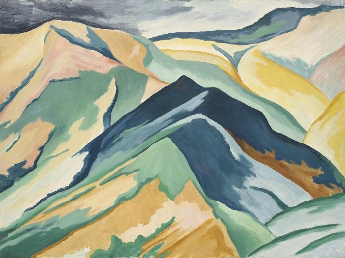 Alberto Magnelli, Apennini toscani no 2, c.1926