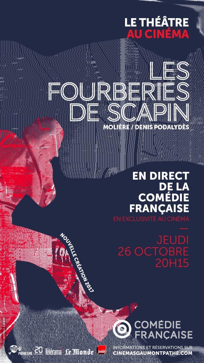 Les Fourberies de Scapin retransmis en direct au cinéma!