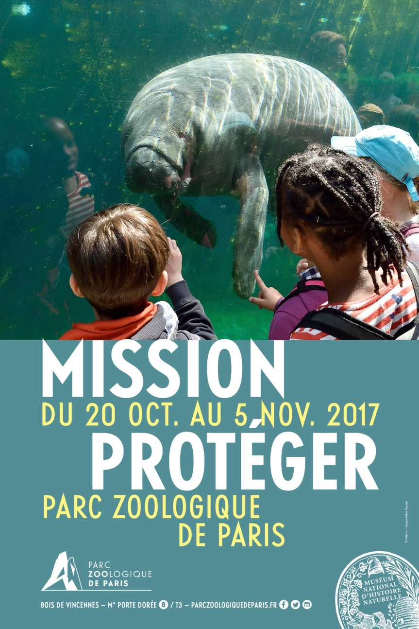 PARC ZOOLOGIQUE DE PARIS : MISSION PROTÉGER