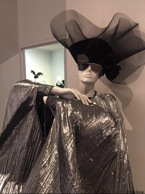 robe gris argent