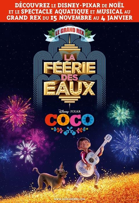 COCO le nouveau film d'animation de Disney.Pixar en avant-première pour les fêtes au GrandRex