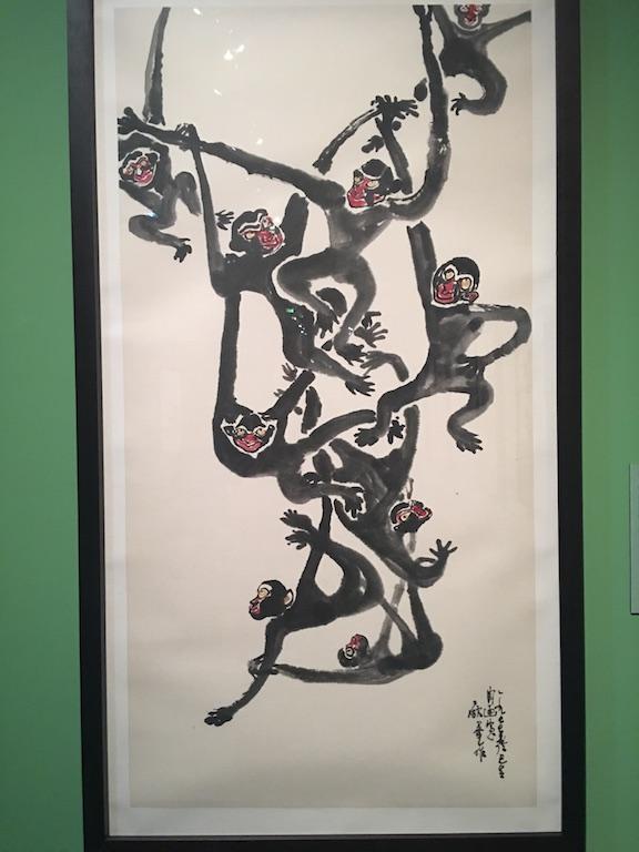 Fête de singes, 1955