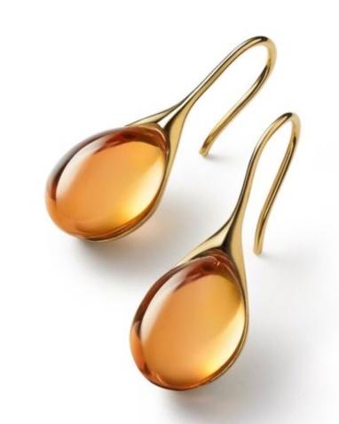 Boucles d'oreilles en cristal Baccarat