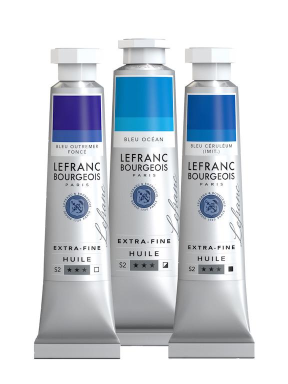 LEFRANC BOURGEOIS - Tubes peinture à l'huile extra-fine - 7€ unité - copie