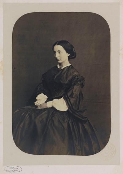 Adèle Hugo fille, 1862. Photographie d'Edmond Bacot (1814-1875). Paris, Maison de Victor Hugo. © Edmond Bacot / Maisons de Victor Hugo / Roger-Viollet