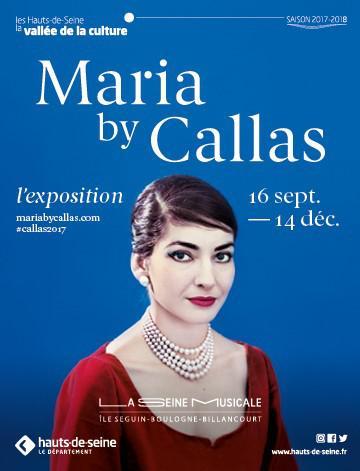 Maria By Callas, première exposition temporaire de La SeineMusicale.